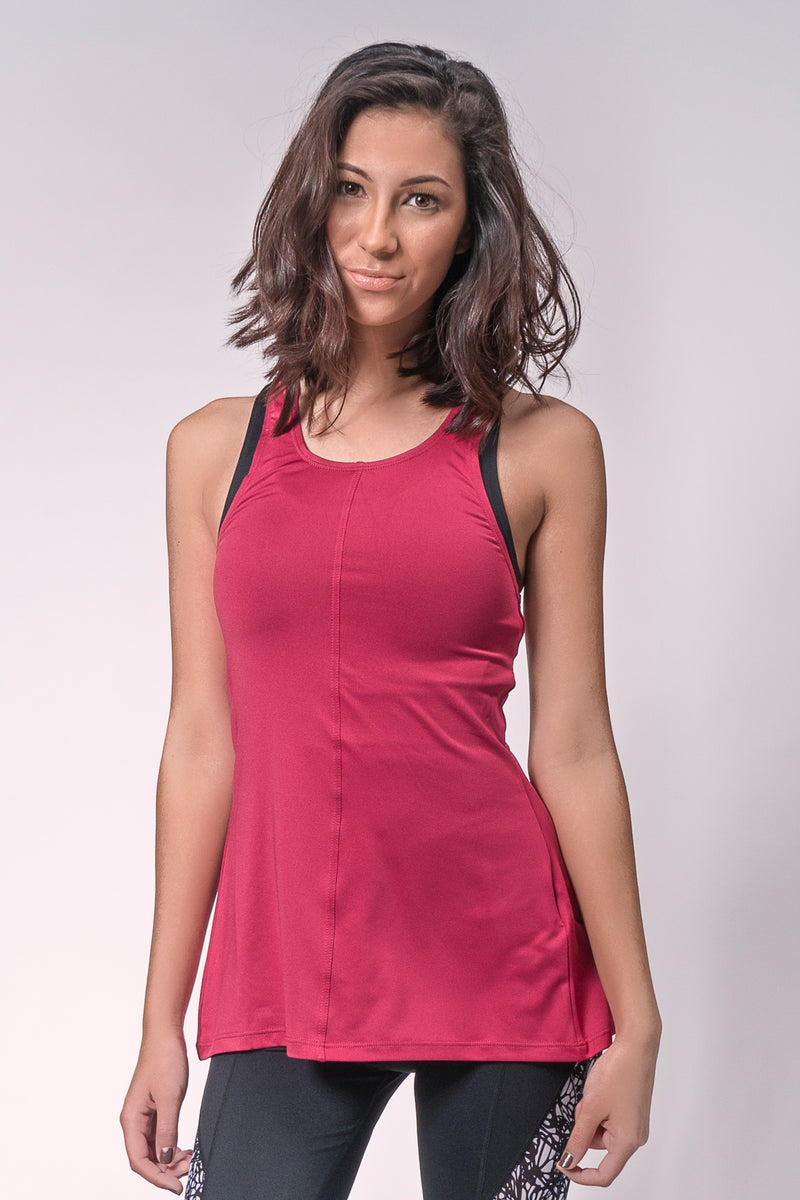 Back Twisted Relaxed Tank