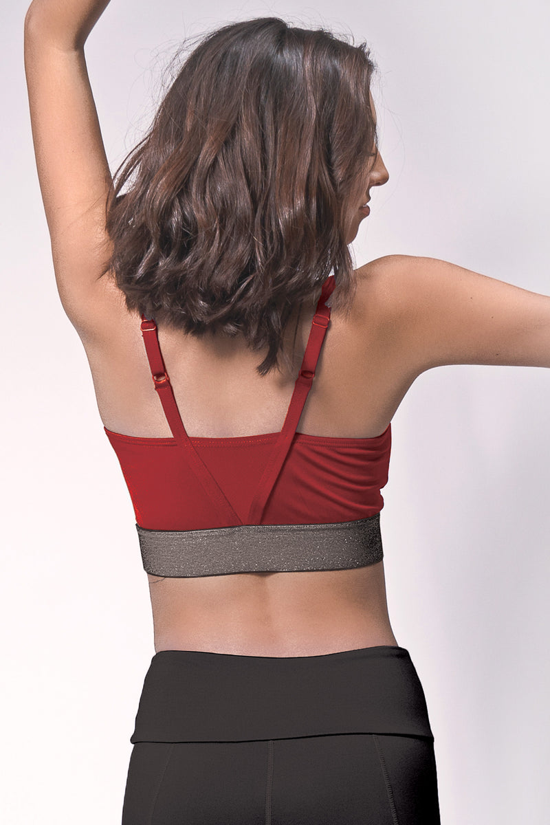 Energize V-neck Sports Bra