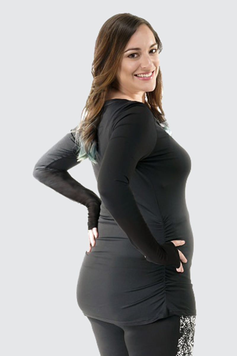 Maternity Active Long Sleeves with Thumbhole