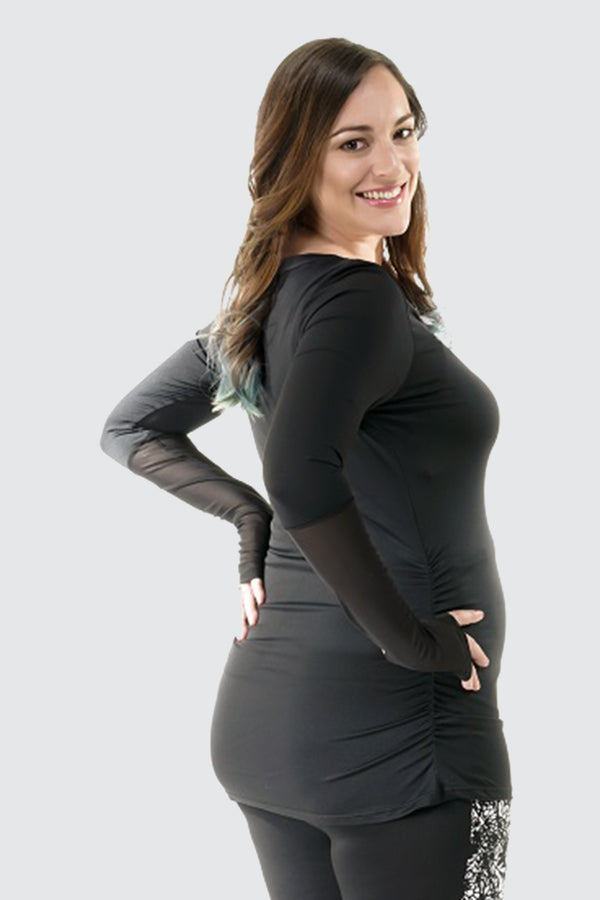 Maternity Active Long Sleeves with Thumbhole & Cuffs