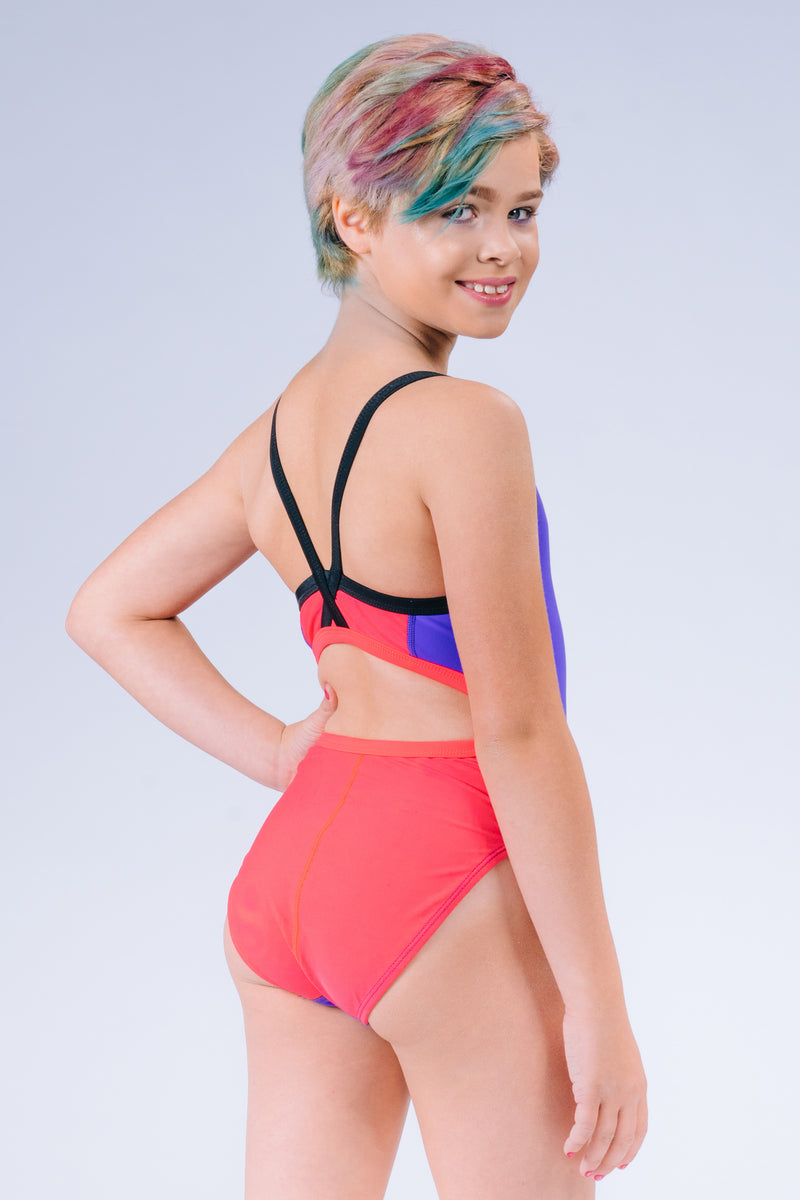 Skinny X-Strap Xtra Lycra Performance Swimsuit