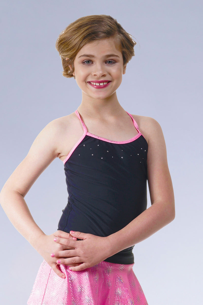 Tankini with Rhinestuds