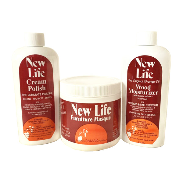 How to Use New Life Wood Conditioners