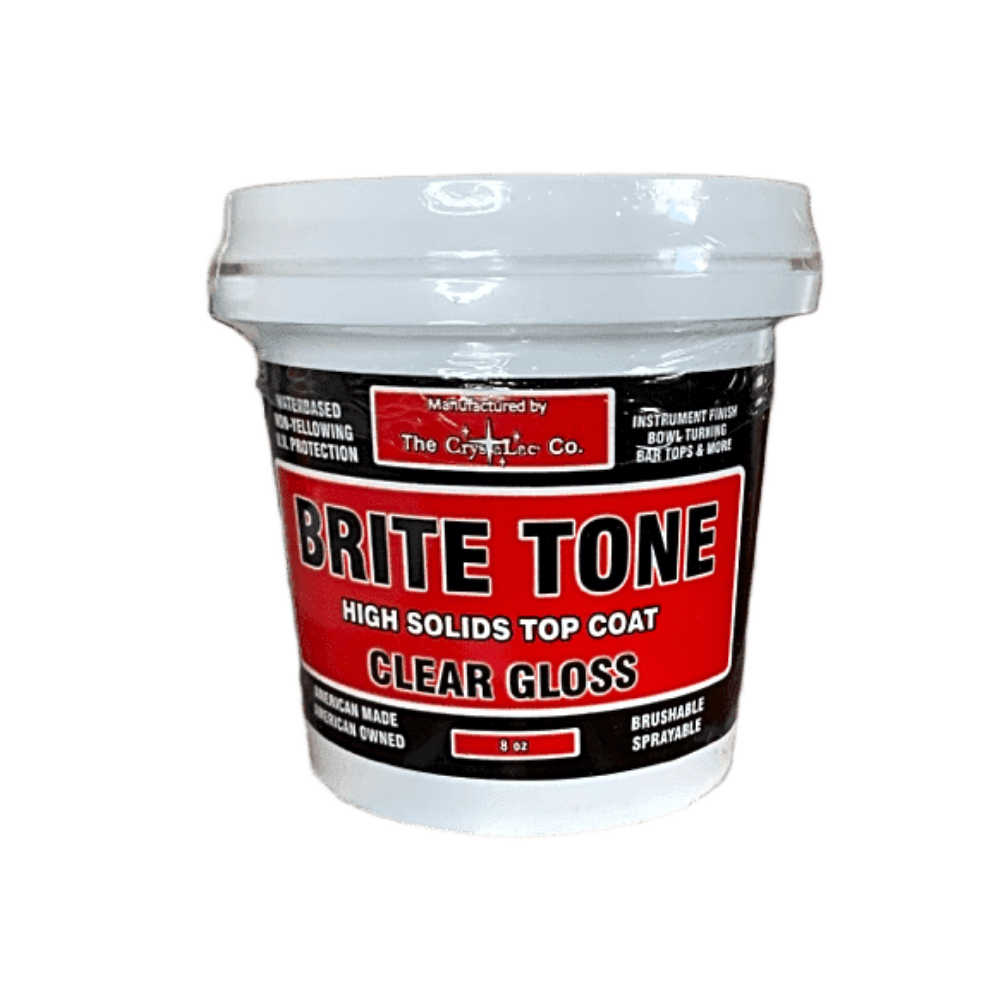 CrystaLac Brite Tone Instrument Finish High Solids Polyurethane