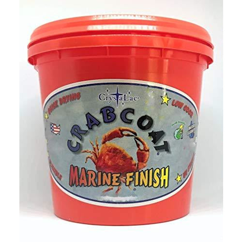 Crystalac CrabCoat Exterior Marine Finish UV Top Coat
