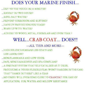 CrabCoat Marine Finish Satin