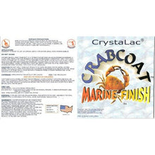 Load image into Gallery viewer, Crystalac CrabCoat Marine Finish UV Top Coat