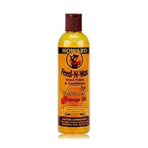 Howard  Feed-N-Wax Wood Polish And Conditioner, 16 Fl Oz