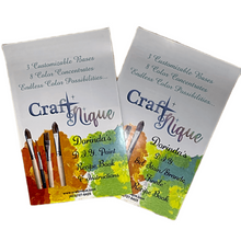 Load image into Gallery viewer, CraftNique Custom Paint and Gel Stain Recipe Books