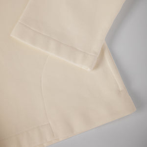 Beige eco smock. GOTS certified textile. 100% natural. Sustainable fashion.