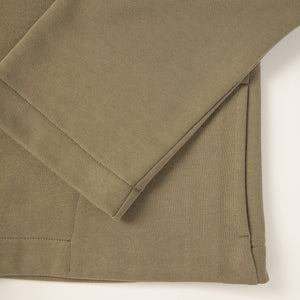 Olive eco smock. GOTS certified textile. 100% natural. Sustainable fashion.