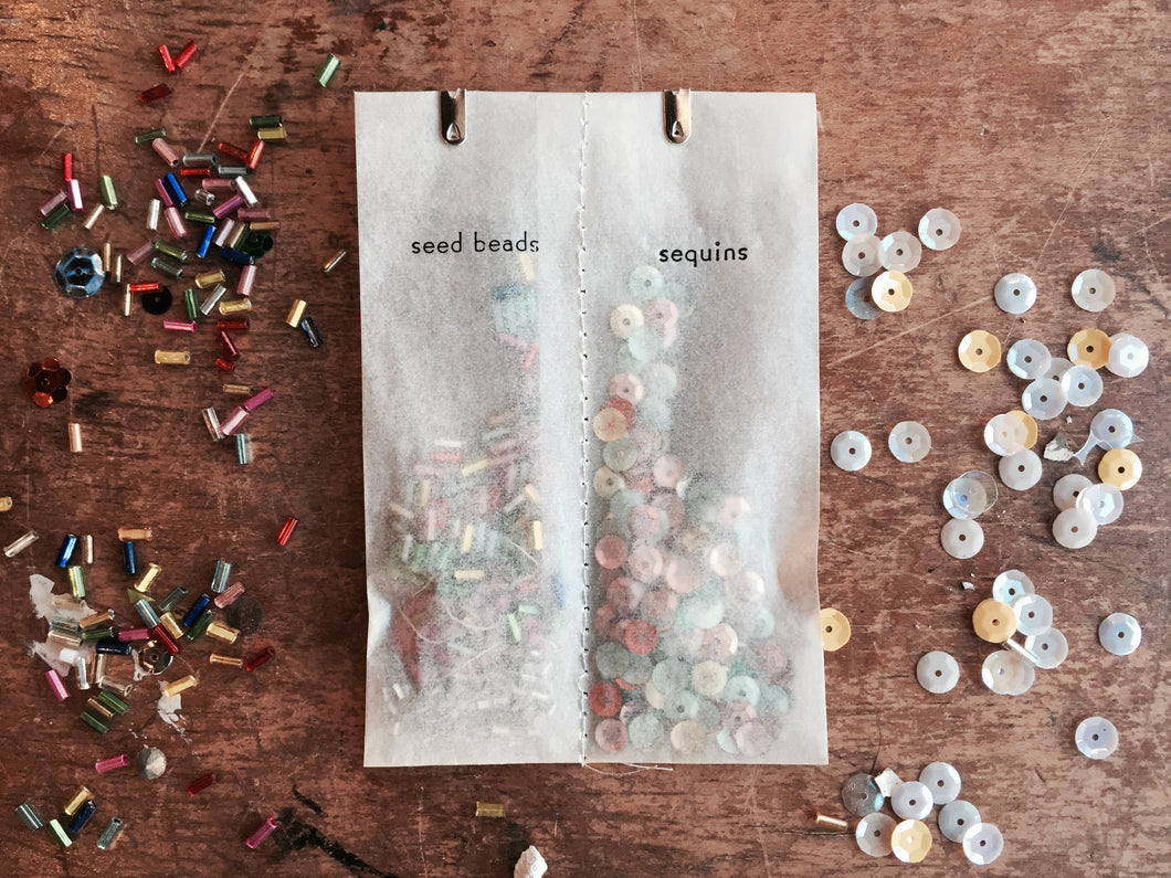 Seed Beads and Sequins - PARCEL