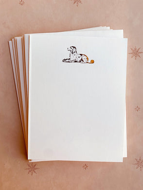 Good Dog Foil Pressed Stationery Set - PARCEL