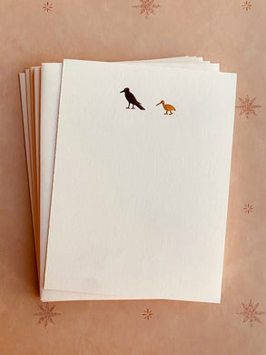 Big Bird, Little Bird Foil Pressed Stationery Set - PARCEL