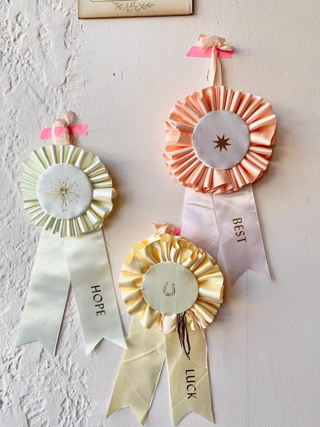 Satin Prize Ribbons - PARCEL
