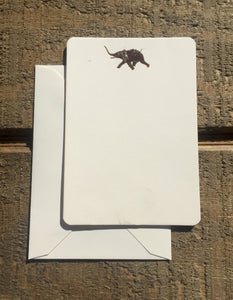 Foil Pressed Elephant Card - PARCEL