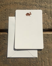 Load image into Gallery viewer, Foil Pressed Rabbit Card - PARCEL
