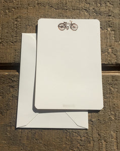 Foil Pressed Bicycle Card - PARCEL