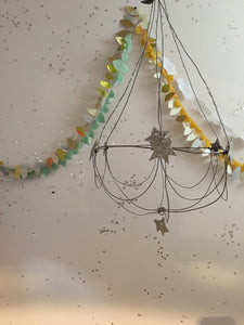 Handmade Wire Chandelier, Made to Order - PARCEL