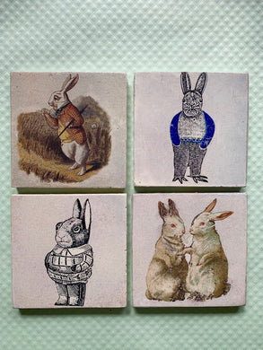 Bunny Trail Handmade Tiles, Made to Order - PARCEL