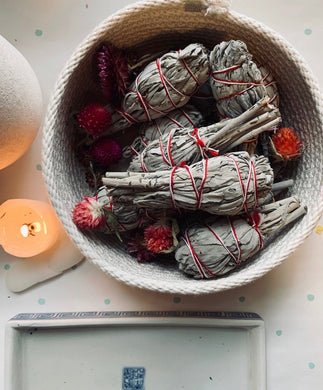 White Sage Torch Bundle - PARCEL