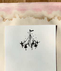 Maypole Foil Pressed Notecards - PARCEL