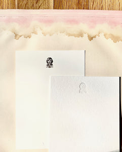 Grecian God Foil Pressed Notecards - PARCEL