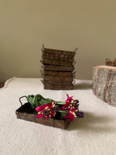 Load image into Gallery viewer, Miniature woven basket with sugared berries - PARCEL
