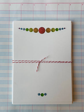 Honeycomb Ball Notecards - PARCEL