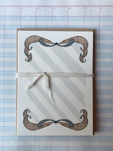 Swirls and Stripes Notecards - PARCEL