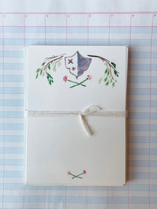 Shield and Branch Notecards - PARCEL