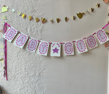 Load image into Gallery viewer, Baby Girl Handmade Banner - PARCEL