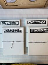 Load image into Gallery viewer, Quaint Woodcut Notecards