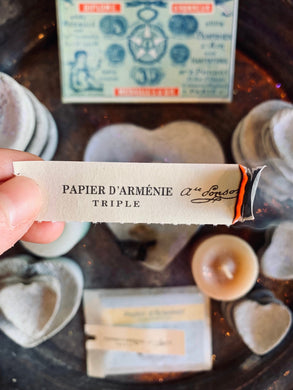 Papier D'Armenie Scented Incense Papers