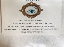 Load image into Gallery viewer, 'A Lover's Eye' Framable Art Card