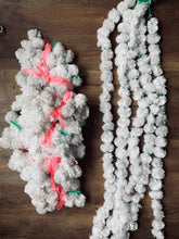 Load image into Gallery viewer, White PomPom Garland
