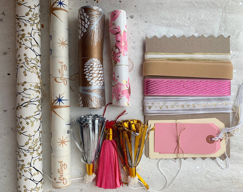 Parcel Gift Wrap Assortment