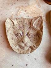 Load image into Gallery viewer, Concrete Cat Trinket Dish (Made to Order) - PARCEL