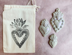 Concrete Sacred Heart Assortment (Made to Order) - PARCEL