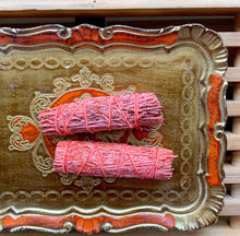 Load image into Gallery viewer, Neon Orange Palo Santo Sage Bundle - PARCEL