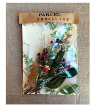 Load image into Gallery viewer, Parcel Embellishment Pack of Floral Bits - PARCEL