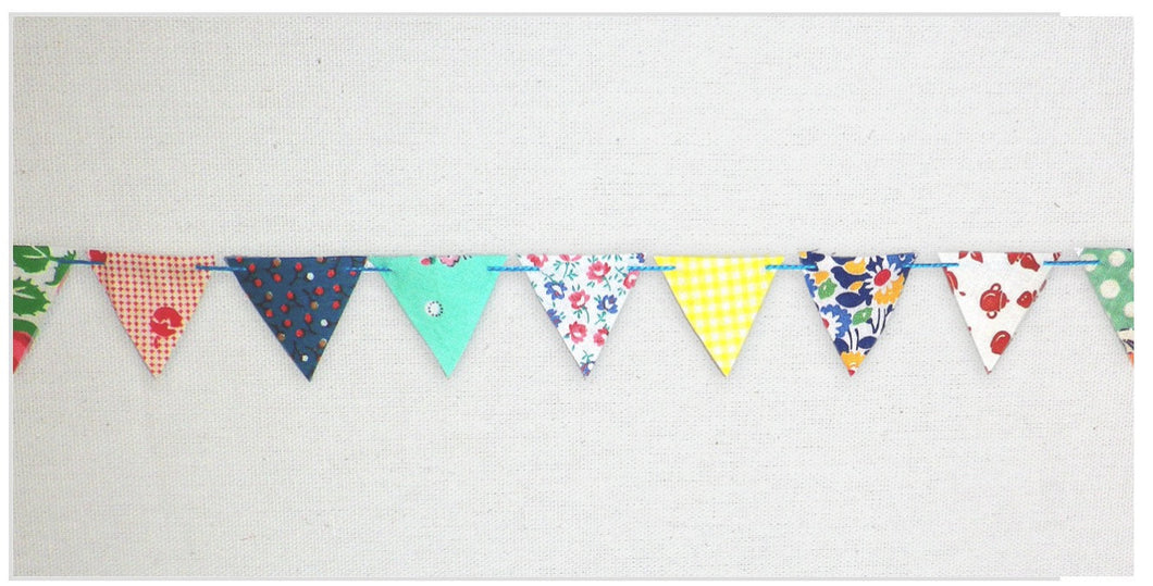 Tiny Bunting Garland, Made to Order - PARCEL