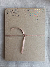 Load image into Gallery viewer, Smattering of Stars Foil Pressed Notecards - PARCEL