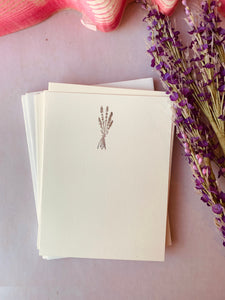 Foil Pressed Notes, Lavender Bundle - PARCEL