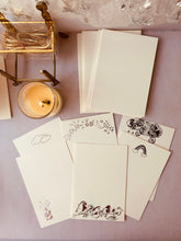 Load image into Gallery viewer, MADE TO ORDER, Hand Foil Pressed Set of Flat Cards, Set of 10, Lullaby and Goodnight - PARCEL