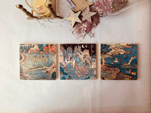 Load image into Gallery viewer, MADE TO ORDER, Parcel Decorative Handmade Tiles, The Land of Make Believe, Here the Mermaids Play, - PARCEL