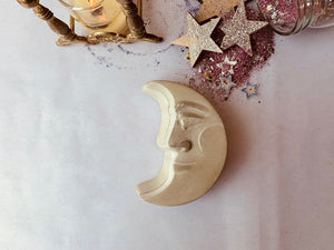 MADE TO ORDER, Parcel Handmade, Concrete Crescent Moon Trinket Box, - PARCEL