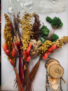 Assorted Dried Flower Bundles - PARCEL
