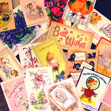 Vintage Greeting Card Sets