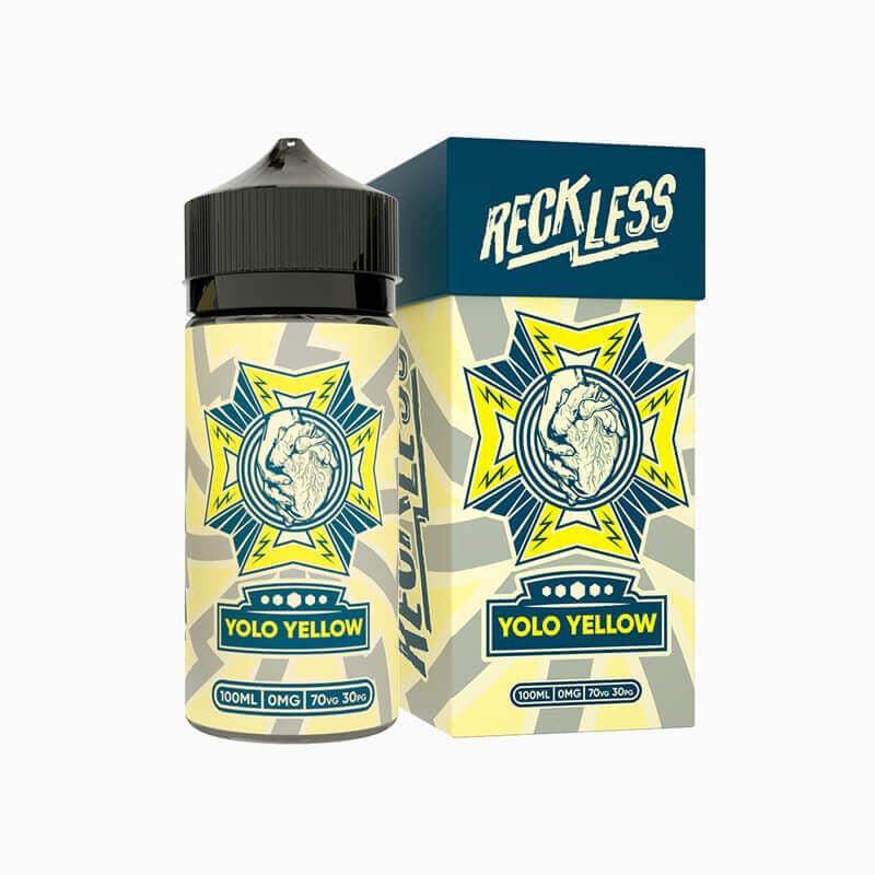 RECKLESS - Yolo Yellow 100ml-Freebase Ejuices-RECKLESS-3mg-Vapemall NZ